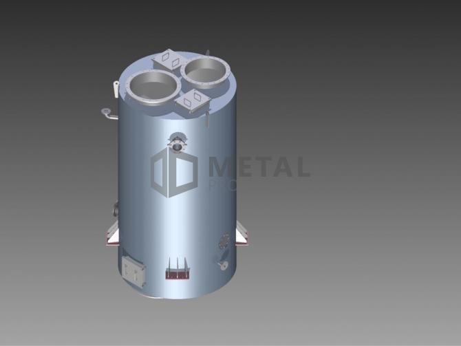 Marine avgass røyktubekoker 1650 kWx2