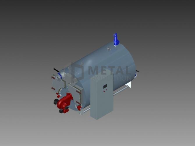Marine oljefyrt røyktubekoker 1750 kW