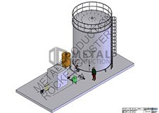 Mikrodumblių auginimo fotobioreaktorius